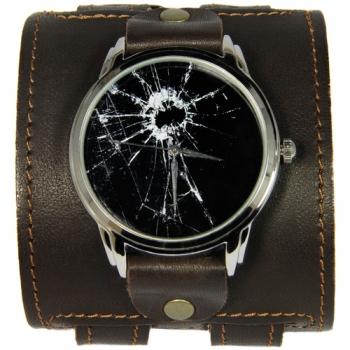 Фото - Эксклюзивные часы Разбитое Стекло купить в киеве на подарок, цена, отзывы