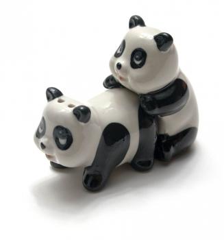 Фото - Солонка с перечницой панды купить в киеве на подарок, цена, отзывы