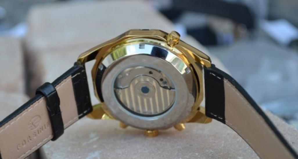 8abb13cfafed ... отзывы · фото 14580 Мужские классические часы Forsining Texas Gold цена,  ...