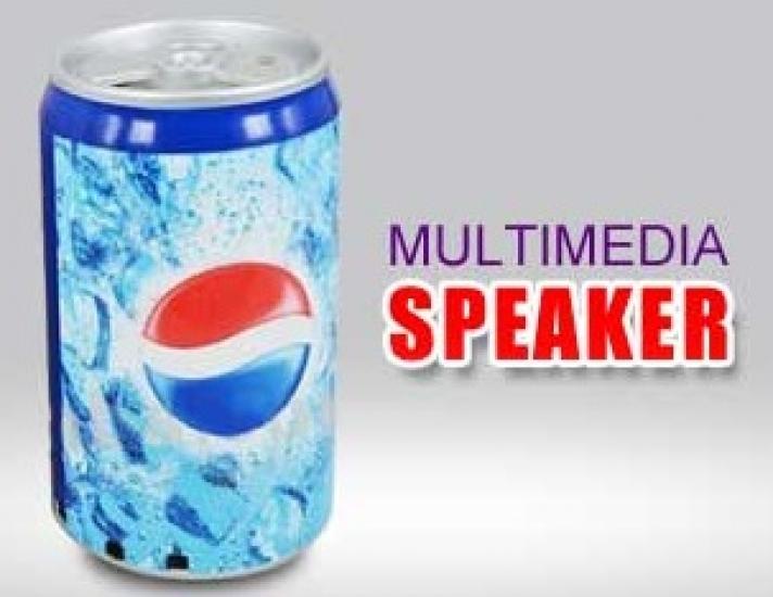 Фото - Портативная колонка с MP3 плеером Pepsi купить в киеве на подарок, цена, отзывы