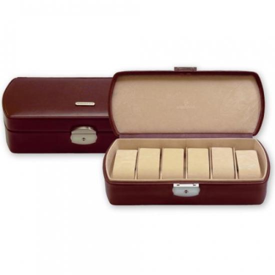 Фото - Шкатулка для часов Vision Classico Brown (на 6 шт) купить в киеве на подарок, цена, отзывы