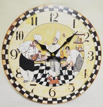 Фото - Часы кухонные Повара купить в киеве на подарок, цена, отзывы