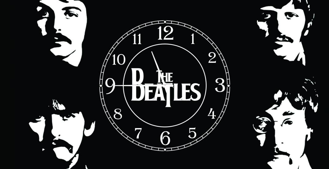 Фото - Часы на холсте The Beatles 25х50 купить в киеве на подарок, цена, отзывы