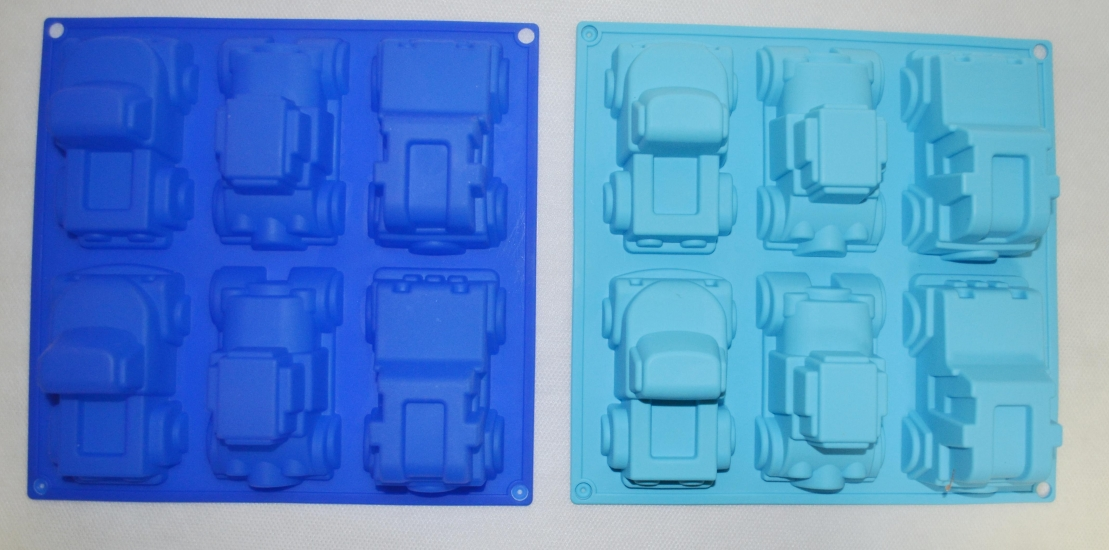 Фото - Силиконовая Форма Машинки 6 шт купить в киеве на подарок, цена, отзывы