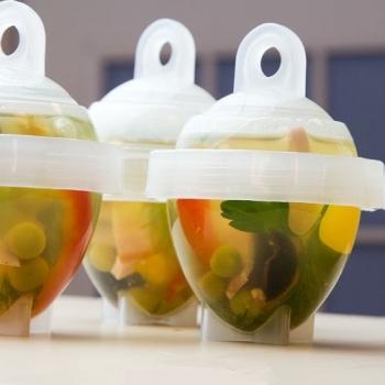 Фото - Набор контейнеров для варки яиц Лентяйка (6шт) купить в киеве на подарок, цена, отзывы