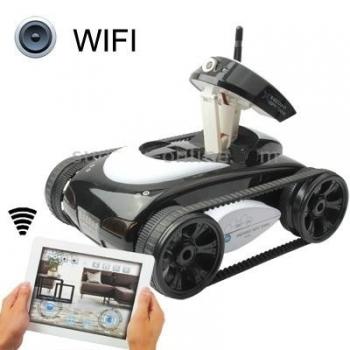 Фото - Робот i-Spy Tank (Танк-шпион) с видеокамерой + фото купить в киеве на подарок, цена, отзывы
