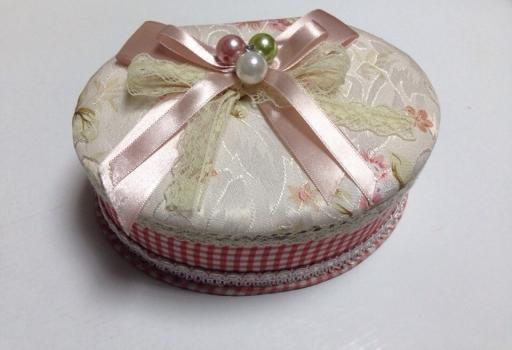 Фото - Шкатулка тканевая овал купить в киеве на подарок, цена, отзывы
