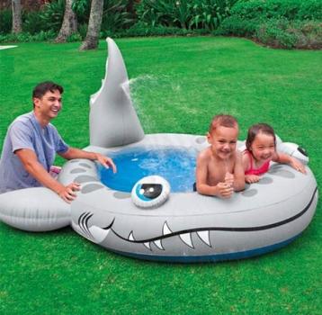 Фото - Детский бассейн Акула (Intex) купить в киеве на подарок, цена, отзывы