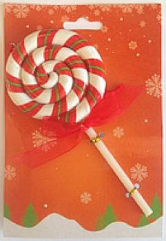 Фото - Елочная игрушка Конфета на палочке-2 купить в киеве на подарок, цена, отзывы