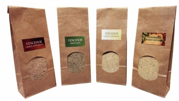 Фото - Кофе зеленый молотый с Имбирем 125г купить в киеве на подарок, цена, отзывы