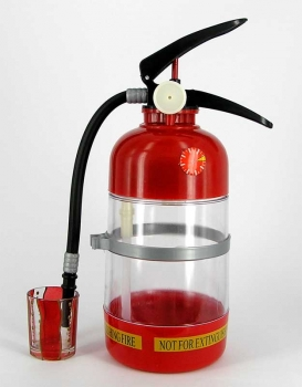 Фото - Диспансер для напитков Огнетушитель 1,5л купить в киеве на подарок, цена, отзывы