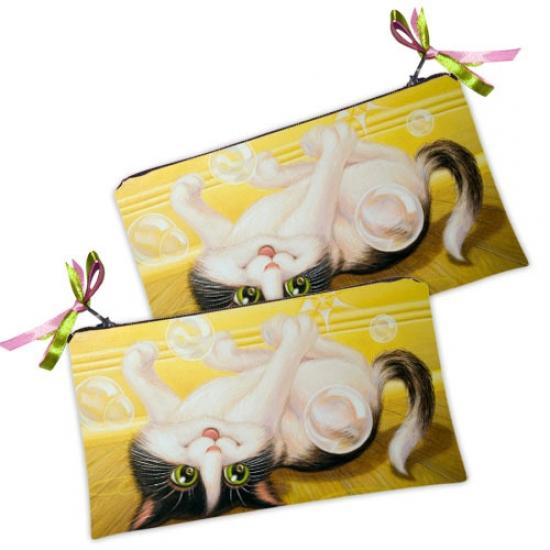Фото - Косметичка-кошелек Котенок купить в киеве на подарок, цена, отзывы