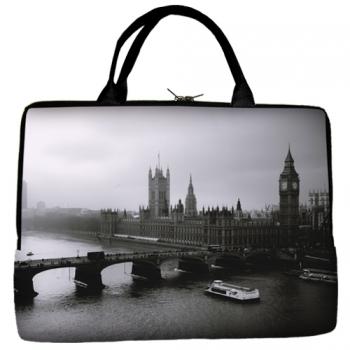 Фото - Сумка для ноутбука Лондон купить в киеве на подарок, цена, отзывы