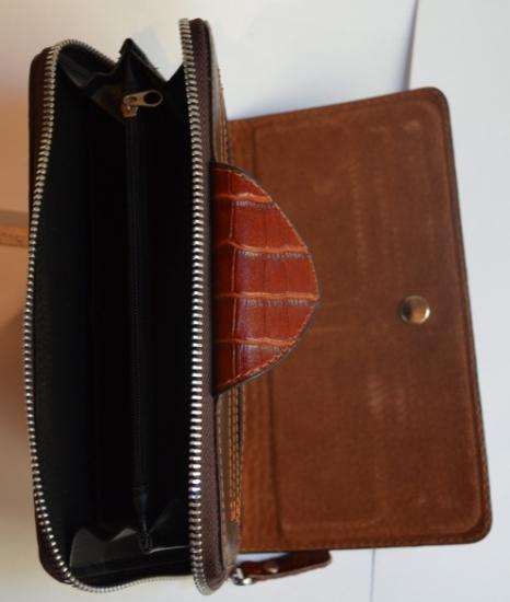 Фото - Кожаный клатч мужской ручной m013 купить в киеве на подарок, цена, отзывы