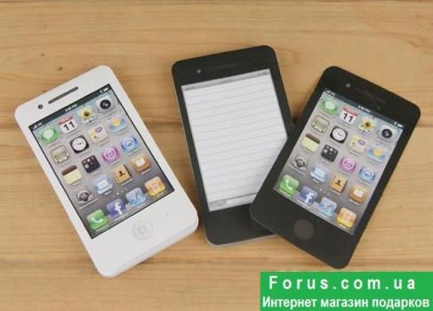 Фото - Блокнот-стикер iPhone4 купить в киеве на подарок, цена, отзывы