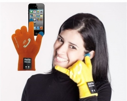 Фото - Bluetooth перчатки-гарнитура Hello Gloves купить в киеве на подарок, цена, отзывы