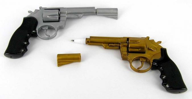 Фото - Ручка Револьвер купить в киеве на подарок, цена, отзывы