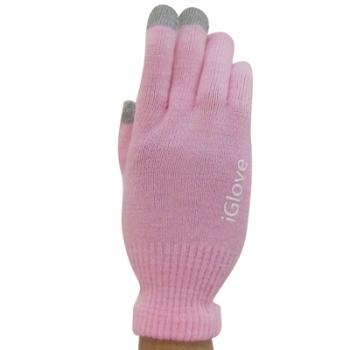 Фото - Перчатки для iphone Igloves розовые купить в киеве на подарок, цена, отзывы