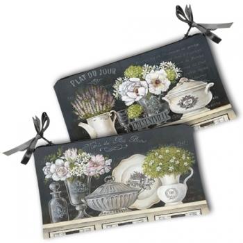 Фото - Косметичка-кошелек пионы купить в киеве на подарок, цена, отзывы