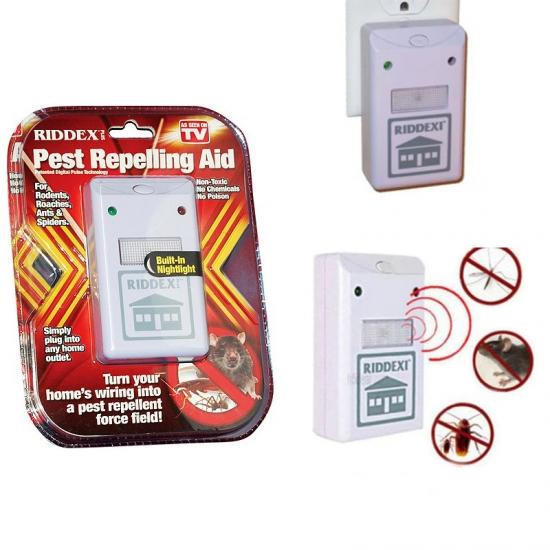 Фото - Отпугиватель тараканов , грызунов насекомых (RIDDEX Pest Repelling Aid) купить в киеве на подарок, цена, отзывы