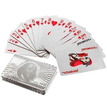 Фото - Карты игральные Серебро купить в киеве на подарок, цена, отзывы
