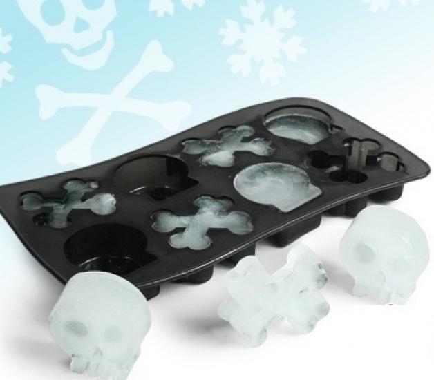Фото - Формы для льда Черепки купить в киеве на подарок, цена, отзывы
