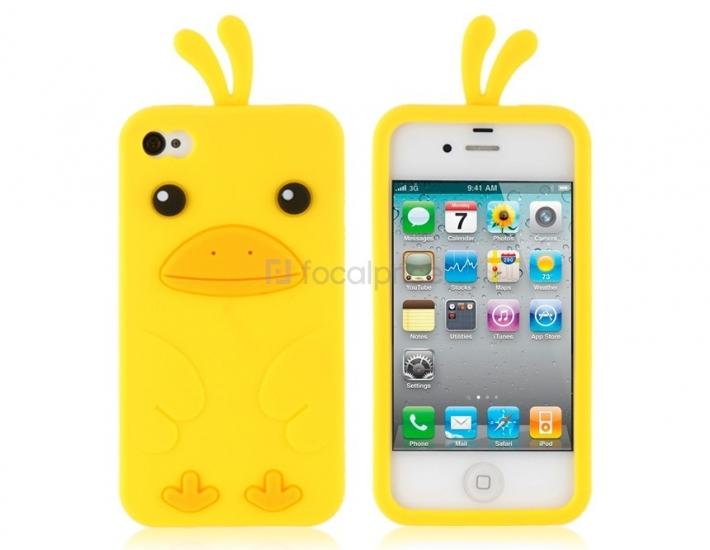 Фото - Защитный Чехол Iphone 4,4S Каченя купить в киеве на подарок, цена, отзывы