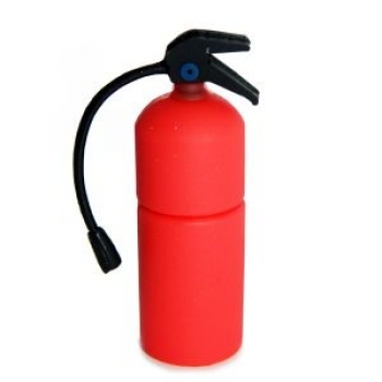 Фото - Флешка 8gb силиконовая Огнетушитель купить в киеве на подарок, цена, отзывы