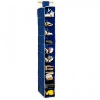 Фото - Подвесной органайзер для обуви на 10 секций купить в киеве на подарок, цена, отзывы