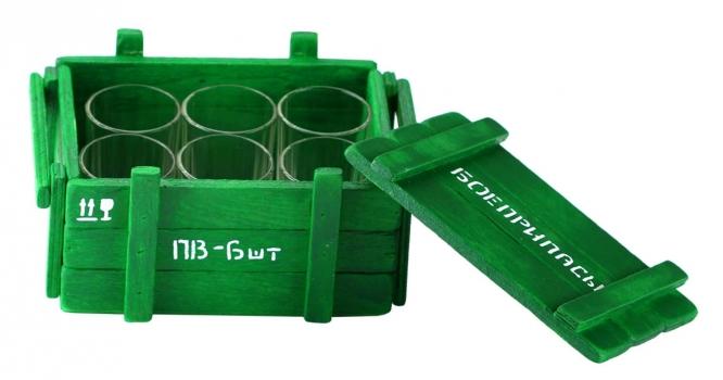 Фото - Бар Боеприпасы ( набор из 6 рюмок) купить в киеве на подарок, цена, отзывы