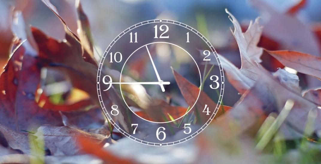 Фото - Часы на холсте осень пришла 25х50 купить в киеве на подарок, цена, отзывы