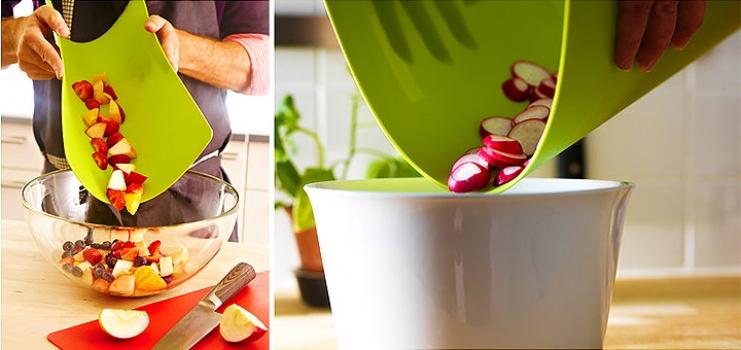 Фото - Кухонная гибкая разделочная доска набор (4шт) купить в киеве на подарок, цена, отзывы