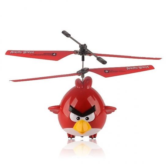 Фото - Радиоуправляемый вертолет Angry Birds, с гироскопом купить в киеве на подарок, цена, отзывы