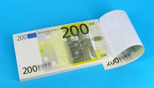 Фото - Блокнот 200 евро купить в киеве на подарок, цена, отзывы