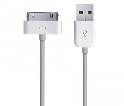 Фото - Кабель Dock Connector to USB Cable for i-Phone 4-4S купить в киеве на подарок, цена, отзывы