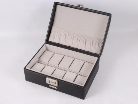 Фото - Шкатулка для часов Vision Black (на 8 шт) купить в киеве на подарок, цена, отзывы