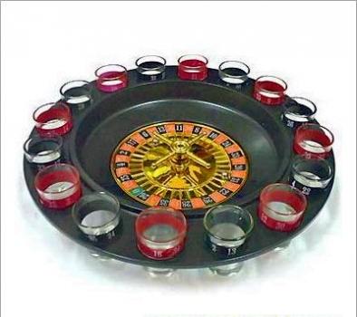 Фото - Алкоигра Рулетка с рюмками 16 рюмок купить в киеве на подарок, цена, отзывы