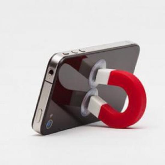 Фото - Магнит держатель на присосках для телефона купить в киеве на подарок, цена, отзывы