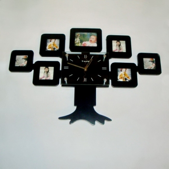 Фото - Фоторамка с часами Семейное дерево купить в киеве на подарок, цена, отзывы
