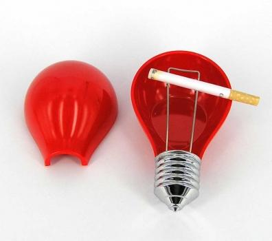 Фото - Пепельница Лампочка цветная купить в киеве на подарок, цена, отзывы