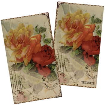 Фото - Визитница Цветы купить в киеве на подарок, цена, отзывы