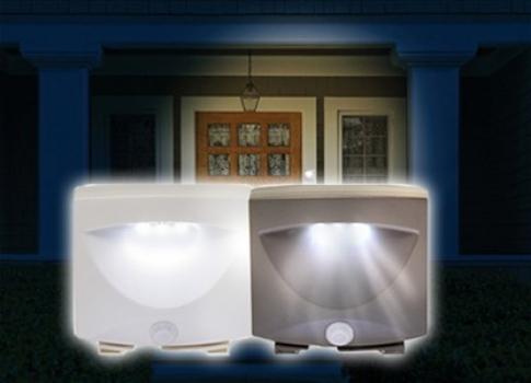 Фото - Светодиодная лампа Mighty Light c датчиком движения купить в киеве на подарок, цена, отзывы