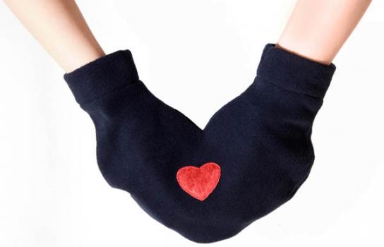 Фото - Варежки для влюбленных  купить в киеве на подарок, цена, отзывы