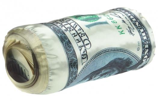 Фото - Подушка Рулон Баксов купить в киеве на подарок, цена, отзывы