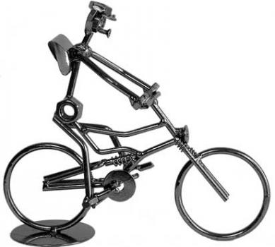 Фото - Велосипедист купить в киеве на подарок, цена, отзывы