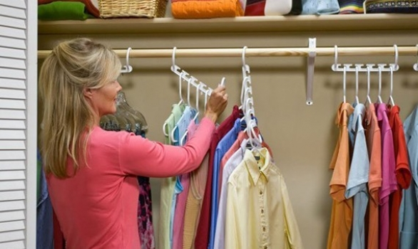 Фото - Набор 2 универсальных «ЧУДО-ВЕШАЛОК» (Wonder Hangers)  купить в киеве на подарок, цена, отзывы