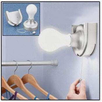Фото - Портативная лампа Stick Up Bulb купить в киеве на подарок, цена, отзывы