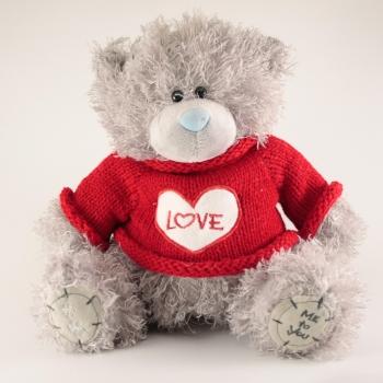 Фото - Мишка Тедди Love 20см купить в киеве на подарок, цена, отзывы