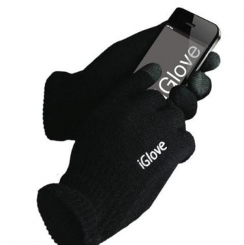 Фото - Перчатки для сенсорных экранов Iglove черные купить в киеве на подарок, цена, отзывы