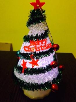 Фото - Led  елка 14 см купить в киеве на подарок, цена, отзывы